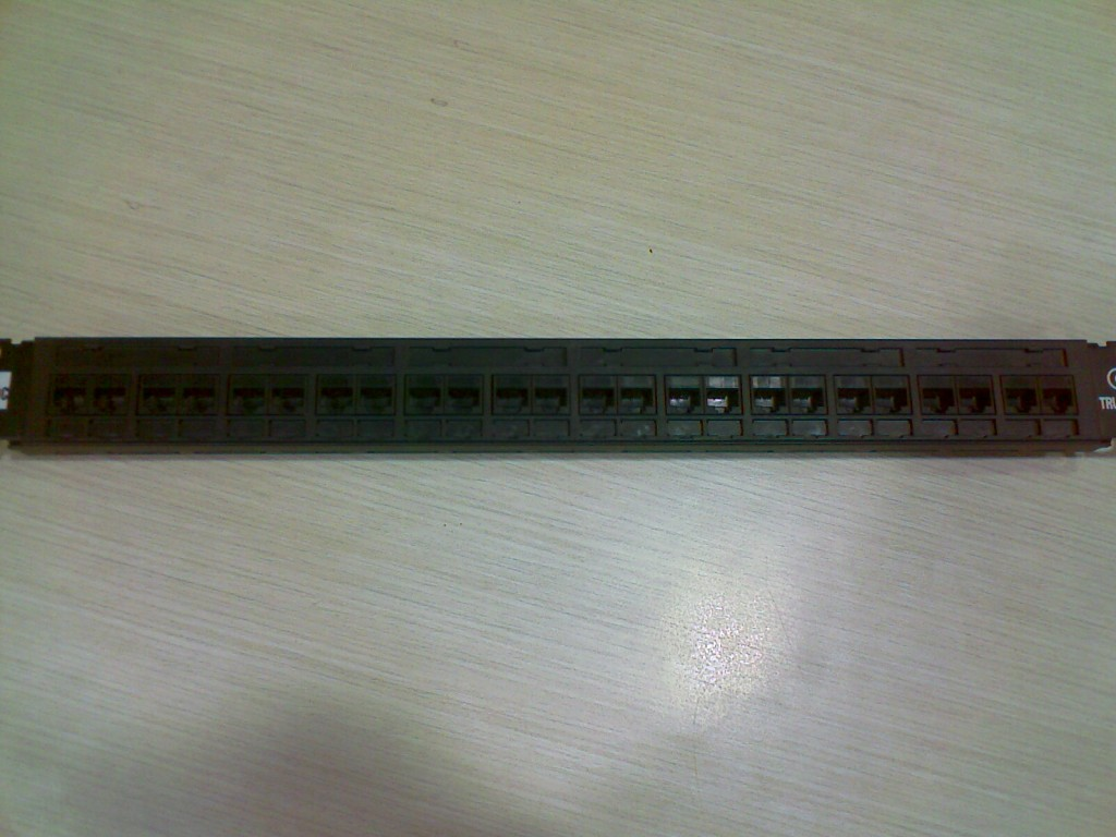 Patch Panel - Front View