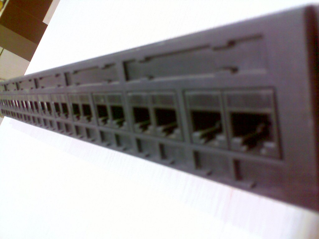Patch Panel - Side View