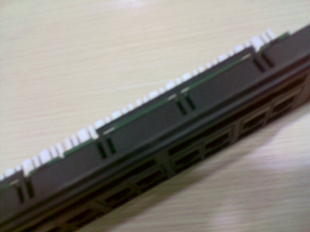 Network Patch Panel - Top View
