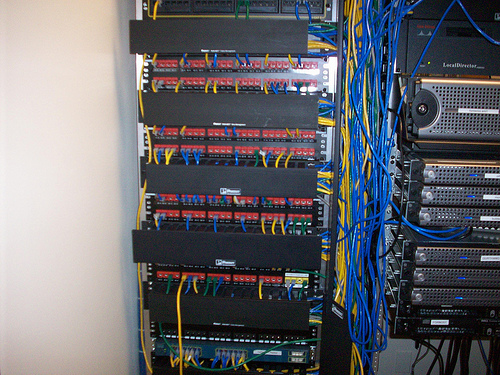 patch panels an introduction to network patch panel excitingip com ethernet patch panel wiring diagram at eliteediting.co